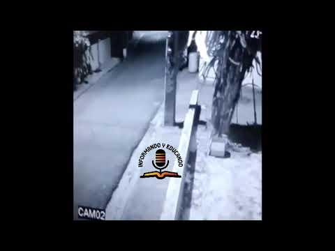 #Video: Momento en que se fugan dos reos de cárcel La Isleta de Moca.