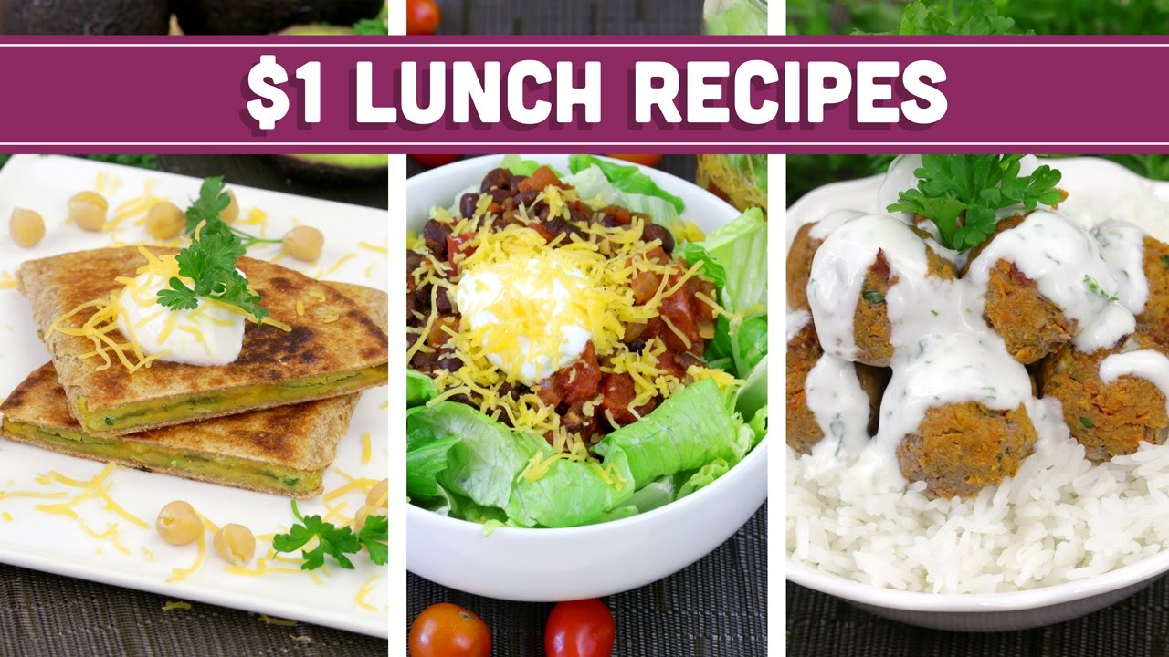 Budget Cuisine | Healthy 1 Lunch Recipes Easy Budget Meals Mind Over Munch
