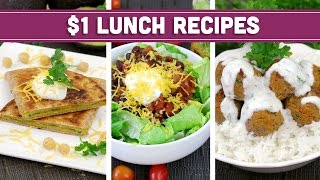 Healthy $1 Lunch Recipes - Easy Budget Meals! - Mind Over Munch