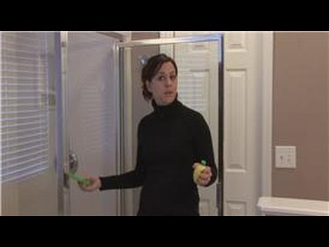 Housekeeping tips how to remove hard water stains on glass shower housekeeping tips how to remove hard water stains on glass shower doors youtube planetlyrics Images