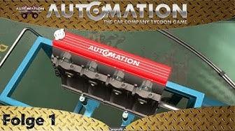 Automation - Ein 46' Coupé wird konstruiert - Let's Play #1 - deutsch - german