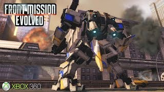 Front Mission Evolved - Xbox 360 / Ps3 Gameplay (2010)