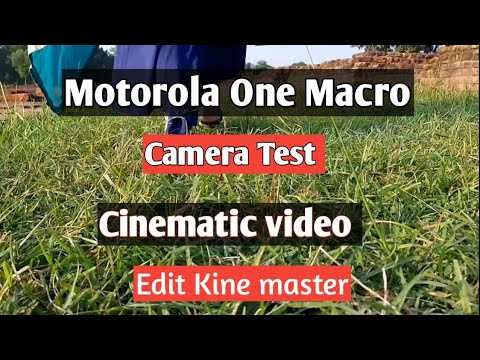 Motorola one macro camera test