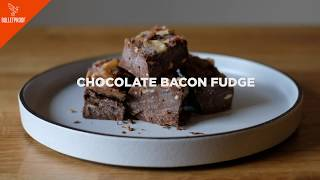 Chocolate Bacon Fudge