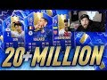MY INSANE NEW 20+ MILLION COIN TOTS SQUAD... - FIFA 19