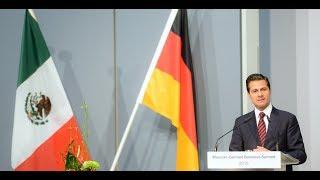 Inauguración de la Cumbre de Negocios México-Alemania.