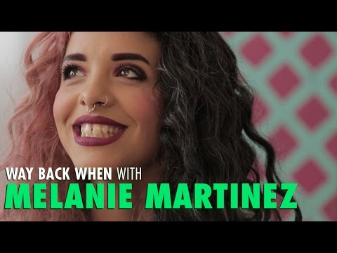 Melanie Martinez Talks First Hair Dye Colour & Sketchy Barney Bday Party