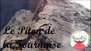 La fournaise en drone - Le cratère Dolomieu