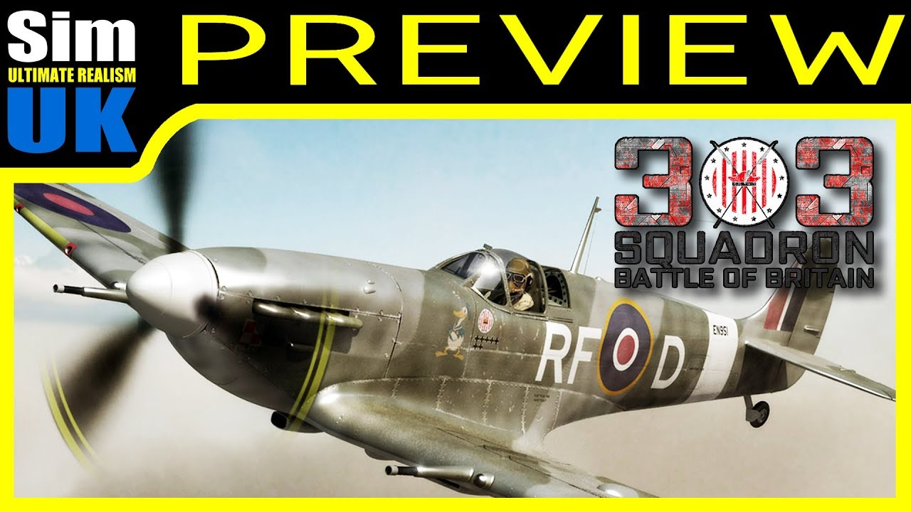 303 Squadron : Battle of Britain | First Look Review of the Demo