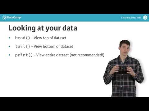 An Introduction to Cleaning Data in R (article) - DataCamp