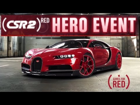 CSR2 RED HERO EVENT BUGATTI CHIRON | CSR RACING 2