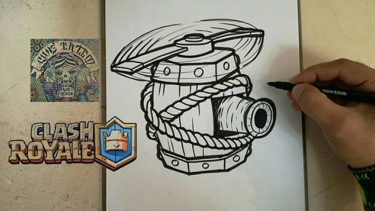 Dibujos Para Dibujar De Clash Royale: COMO DIBUJAR LA MAQUINA VOLADORA