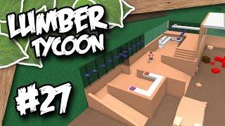 Lumber Tycoon 2 #27 - BUILDING A STORAGE BARN (Roblox Lumber Tycoon)