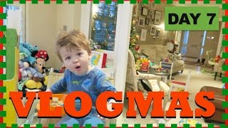 The Morning Of . . .  | DAY 7 | VLOGMAS 2016