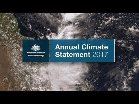 Annual Climate Statement 2017