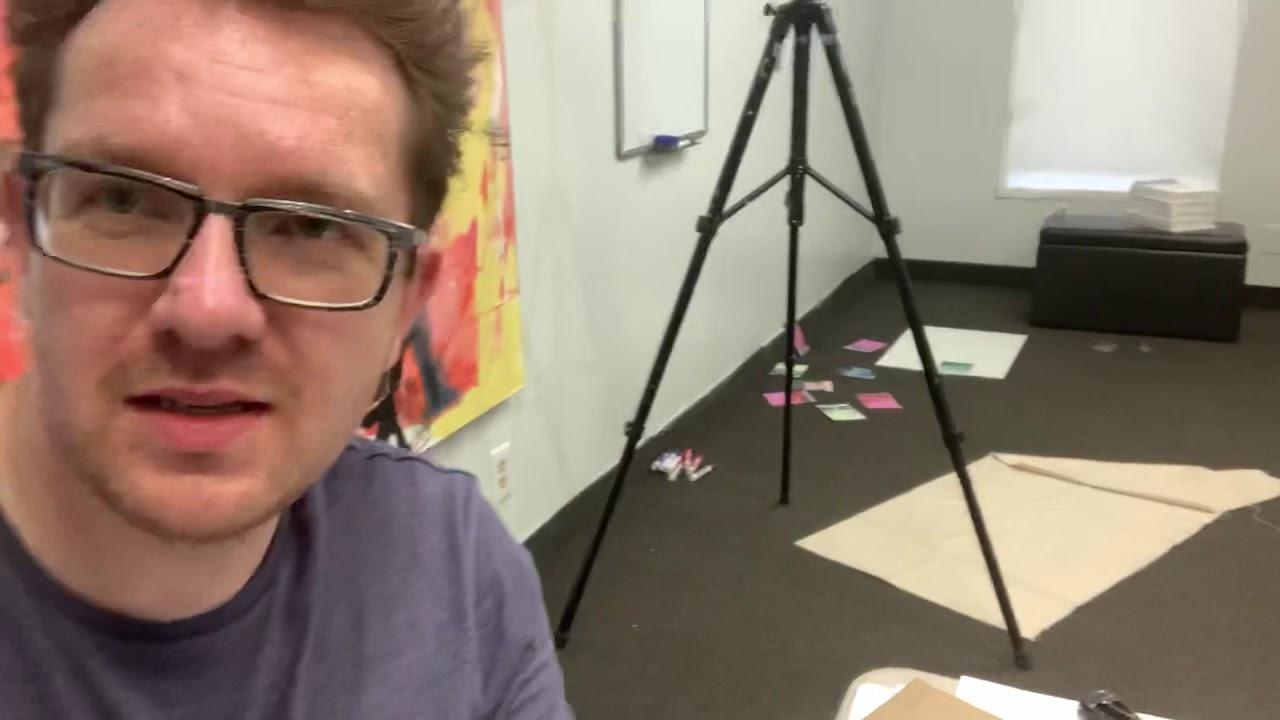 Saying hello from my studio.