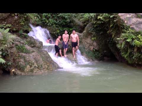 Swimming @ Sinungkulan falls Barangay Lamac Pinamungajan, Cebu. Oct.4,2014