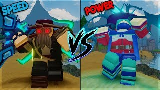 SPEED VS POWER - BEST MAGE SKILL - IN GHASTLY HARBOR DUNGEON QUEST ROBLOX