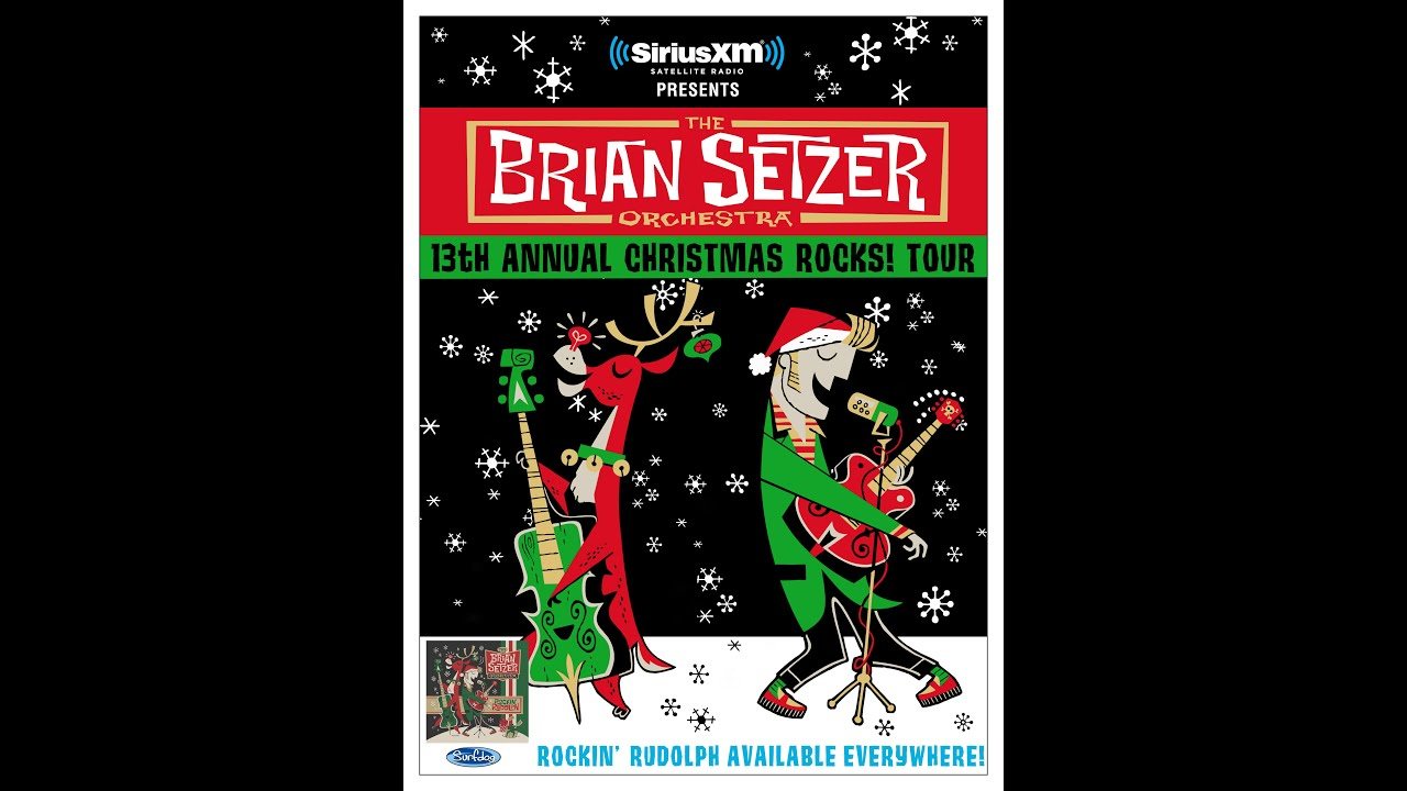 the brian setzer orchestra christmas rocks tour youtube. Black Bedroom Furniture Sets. Home Design Ideas