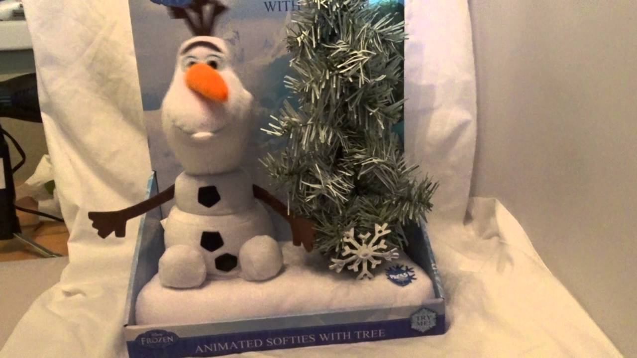 Disney Frozen Animated Softie Olaf sings In Summer Christmas - YouTube