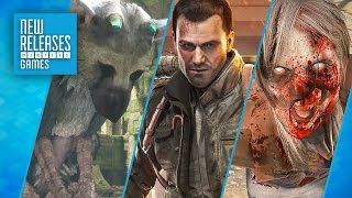The Last Guardian, Dead Rising 4, Arizona Sunshine - New Releases