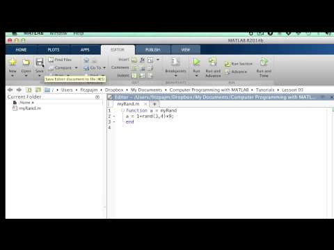 Lesson 3.2: Function Input/Output