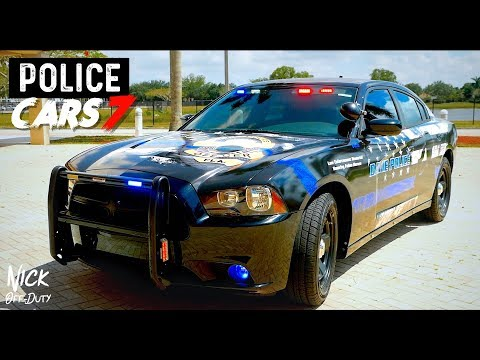 POLICE CARS Police Memorial Vehicle (DODGE CHARGER Davie Police Department)