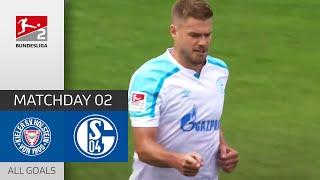 Terodde Brace Holstein Kiel FC Schalke 04 0 3 All Goals Matchday 2 Bundesliga 2 21 22