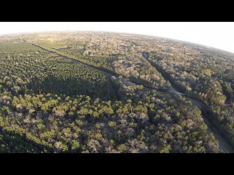Circling Splendora TX - powered paragliding