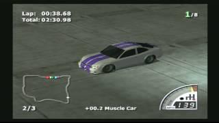 Rumble Racing PS2 (game play)