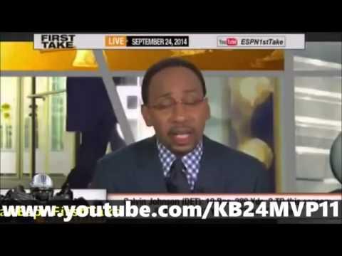 Calvin Johnson Best Receiver Ever      ESPN First Take