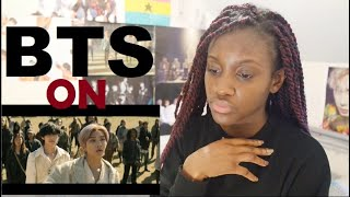 BTS (방탄소년단) 'ON' Official MV REACTION + ALBUM THOUGHTS