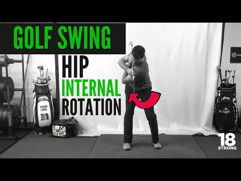 Do you need Better Golf Swing Hip Internal Rotation For the Backswing