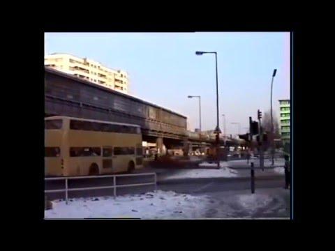 West-Berlin 1987 - U-Bahnfahrt in Kreuzberg