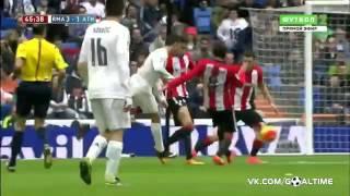 Реал Мадрид   Атлетик 4 2  Обзор матча  Испания  Ла Лига 201516  24 тур
