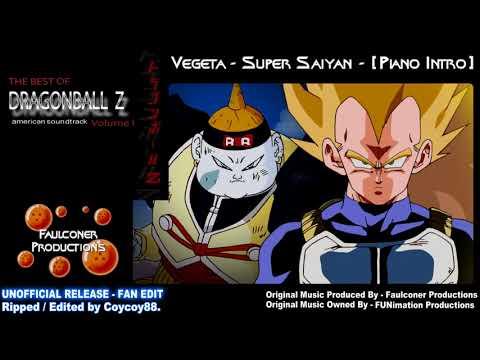Vegeta - Super Saiyan - (Piano Intro) - (Blu-ray Rip) - [Faulconer Productions]