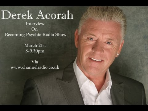 derek acorah interview march 21st 2013