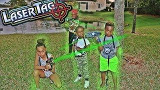 Baixar Laser Tag Battle Challenge Ft. Pierre Sisters & Super Siah