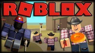 Jouer Roblox-Wild Revolvers-tir Féroeste avec Churros!
