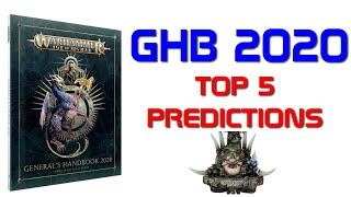 GHB 2020 - Top 5 Predictions for SERAPHON Changes!
