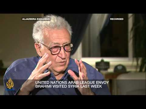 Inside Syria - Brahimi: 'Change has to take place'