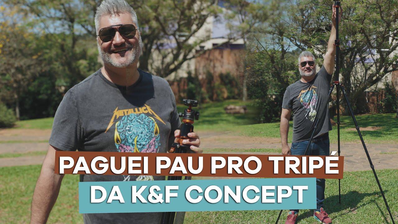 Review: Tripé de Alumínio K&F Concept