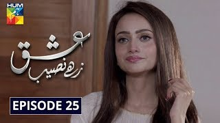 Ishq Zahe Naseeb Episode 25 HUM TV Drama 13 December 2019