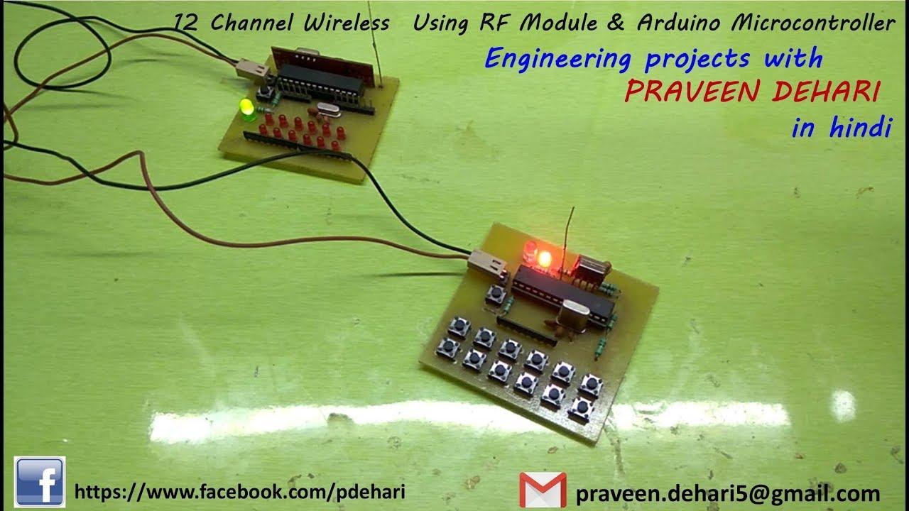 12 Channel Wireless Using Rf Module Arduino Tutorial 60