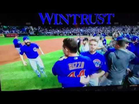 Chicago Cubs raise World Series banner