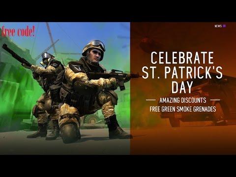 Warface: Free Code For Green Smoke Grenade!