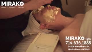 Mirako Spa - Pure 24k Gold Therapy - Detox, Firming, Lifting and Brightening