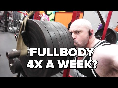 Fullbody Workouts 4 Days a Week? Is This Crazy?