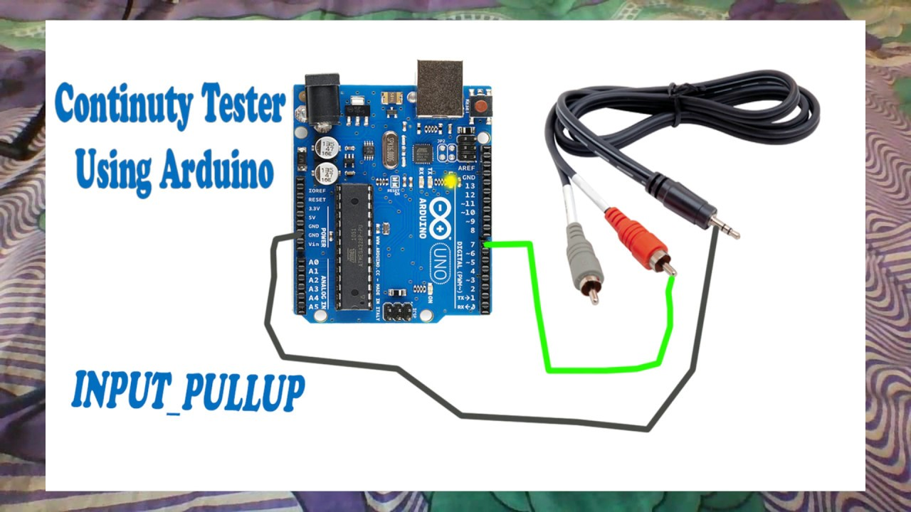 Continuity tester using Arduino | Internal pullup | - YouTube