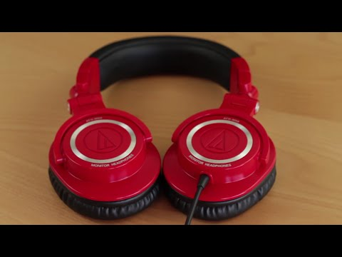 Best Over Ear Headphones? Audio Technica ATH M50 Review